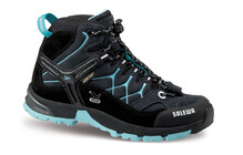 Salewa Junior Alp Trainer MID GTX carbon/peacok